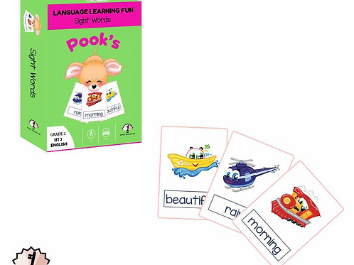 Grade 2 Sight Words: Set 3