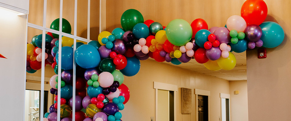 Balloons by: Kristy Balloon Decor