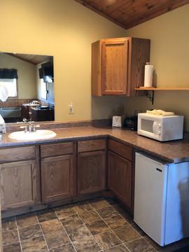 Cabin sink/kitchen area