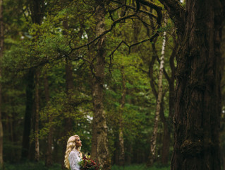 WOODLANDS BRIDAL PHOTO SHOOT behind the scenes