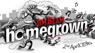 Jim Beam Homegrown 2016 Line Up