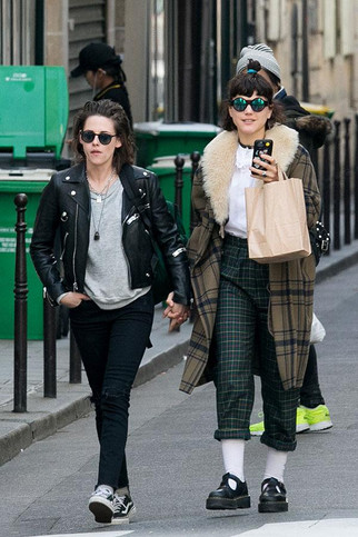 Kristen Stewart goes public with new girlfriend for first time