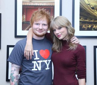 Taylor Swifts Birthday Message For Ed Sheeran