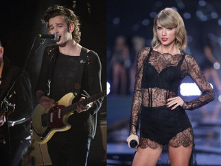 """The 1975's Matt Healy takes a MAJOR swipe at Taylor Swift: """"Dating her would be emasculatin"""