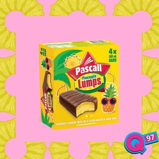 Pineapple Lump inspired ice-blocks are here!!