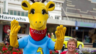 Harold the Giraffe gets a Makeover!