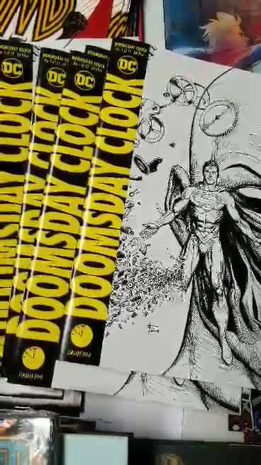 The end of your wait is near!  6am Wednesday you can get your copy of Doomsday Clock.