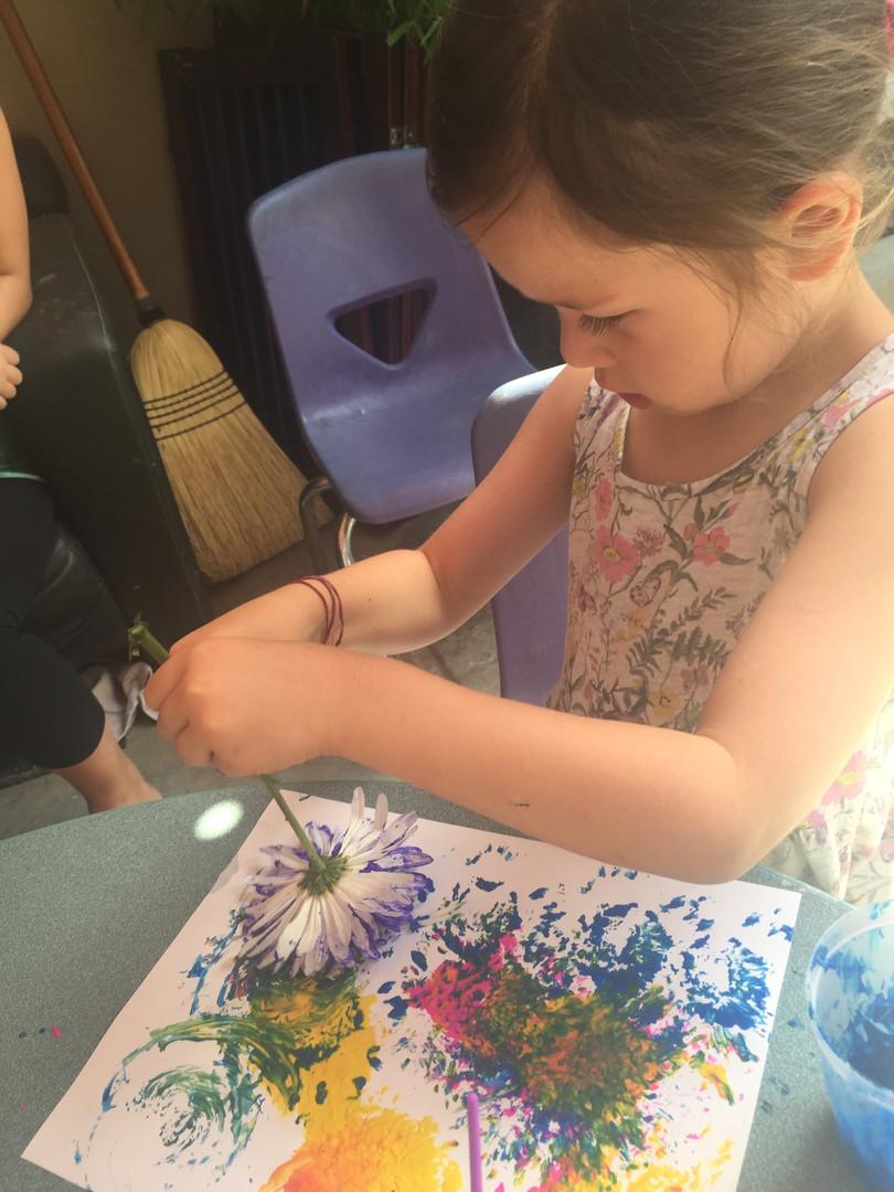 petal paint brush