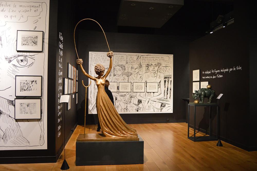 Exposition « Une Seconde avant l'éveil », Paris, 2016 - (c) Sarah Borensztein.