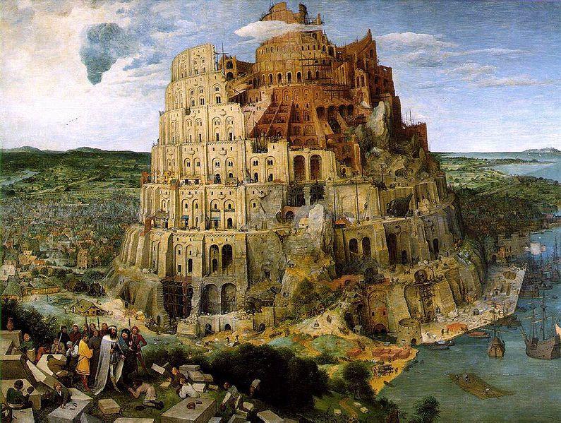 Tour de Babel Brueghel institut d'études judaïsme