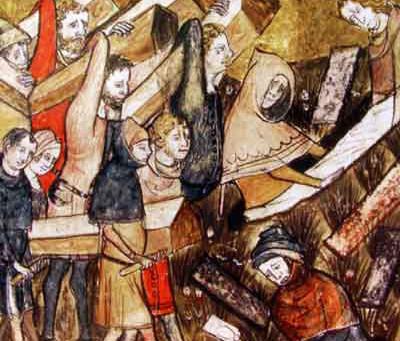 Les Juifs de Bruxelles et la peste noire