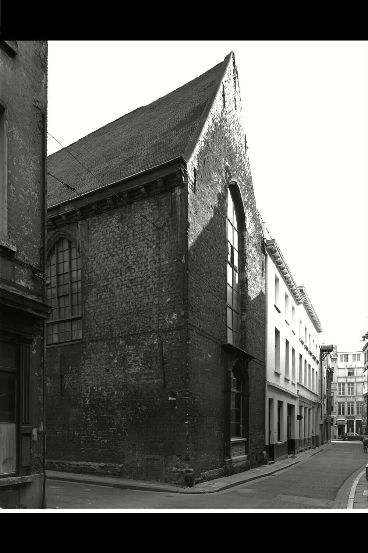 Synagogue à Anvers de 1846 à 1893.
