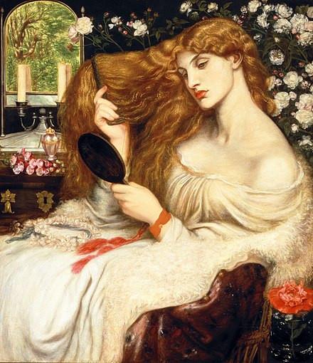 Lady Lilith, de Dante Gabriel Rossetti (1866–1873), Delaware Art Museum.