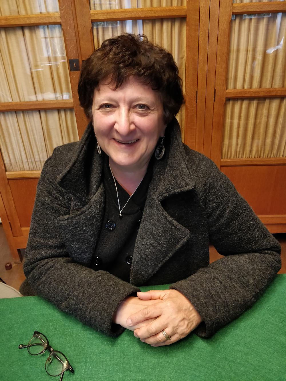 Sonia Dratwa, professeur de Yiddish à l'Institut d'Etudes du Judaïsme