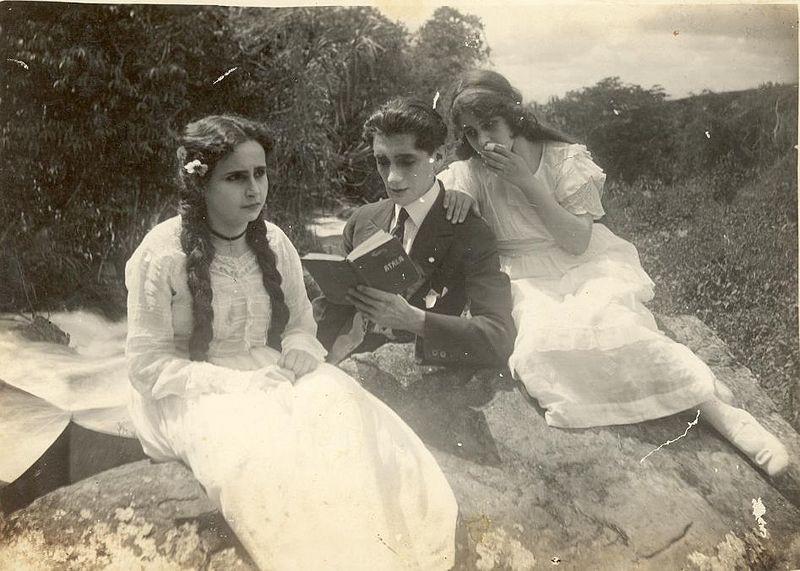 """Adaptation cinématographique du roman """"María"""" (1921, Máximo Calvo Olmedo et Alfredo del Diestro"""