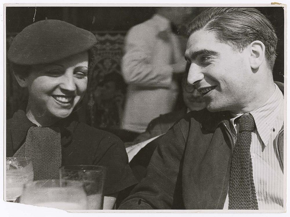 Gerda Taro et Robert Capa.