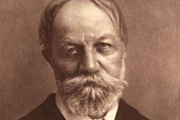 Portrait de Jókai Mór.