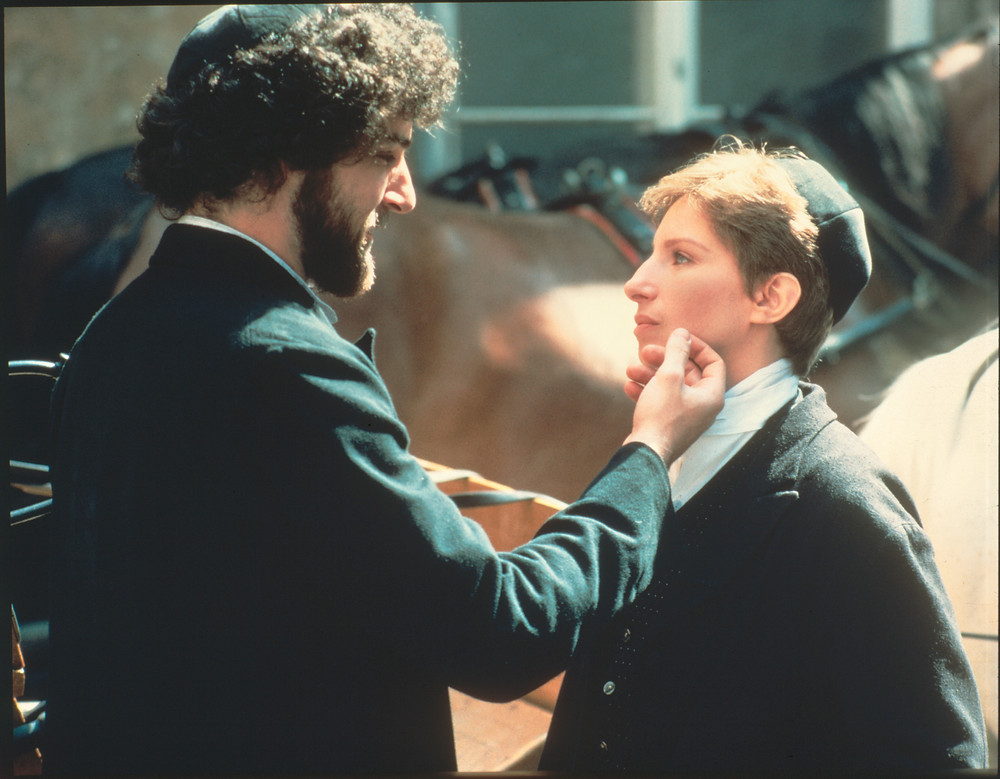 "Scène du film ""Yentl"", 1983."