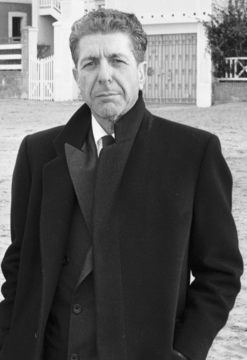 Léonard Cohen en 1988.
