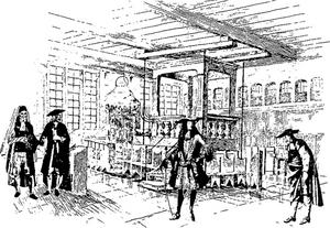 Synagogue de Metz. Visite de Louis XIV. (Montage évocation).