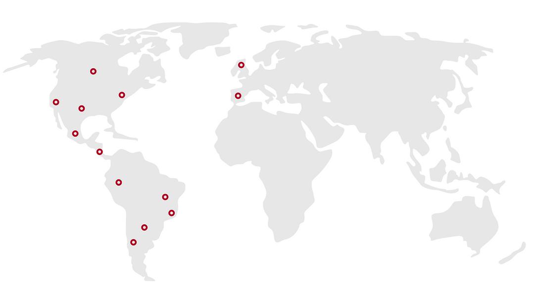 Blue and Grey World Map Chart Presentati