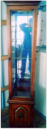 Medium Wood Curio Cabinet