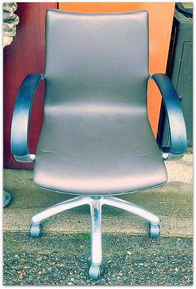 Grey Office Swivel Chair