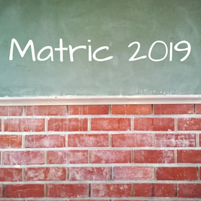 RAISING STUDENT ACHIEVEMENT - MATRICS OF 2019