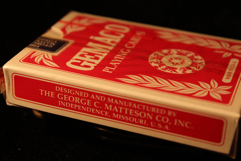 Gemaco Gemback Playing Cards