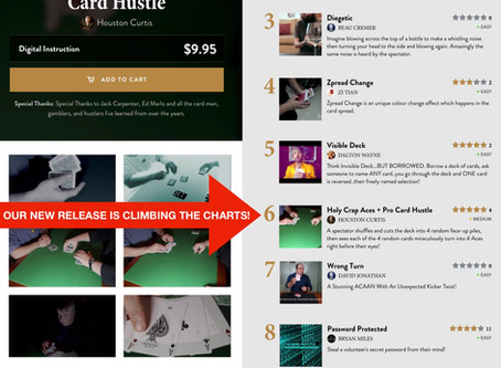 KardSharp Founder Houston Curtis climbs the charts on Theory11 with the release of Holy Crap Aces!