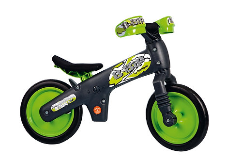 BELLELLI B-BIP BALANCE BIKE BLACK-GREEN