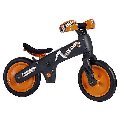 BELLELLI B-BIP BALANCE BIKE BLACK-ORANGE