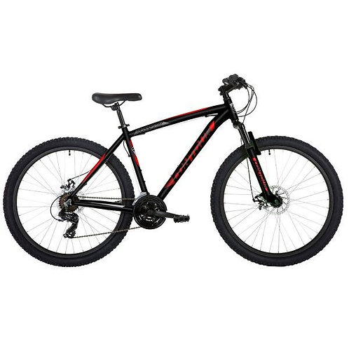 "Freespirit Contour 27.5"" Wheel Mens MTB Style Bike Black/Red"