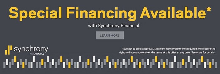 Finance your furniture with Synchrony Financial