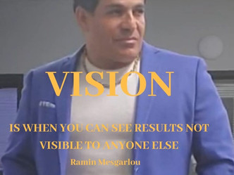 Be a Visionary