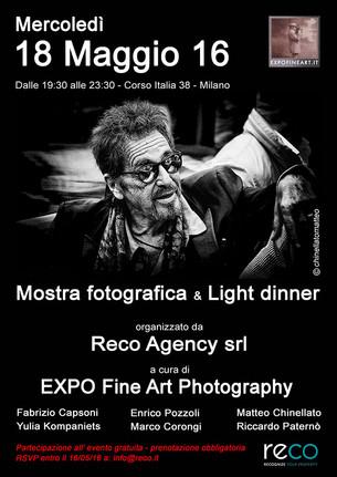 Mostra collettiva da RECO a Milano