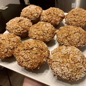 Bulk Mode Banana-Pumpkin Protein Muffins