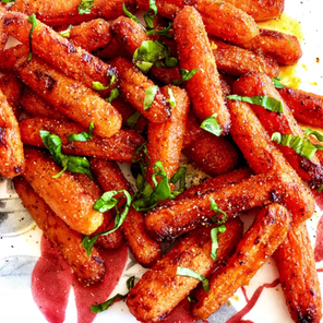 Sweet & Spicy Air Fryer Carrots