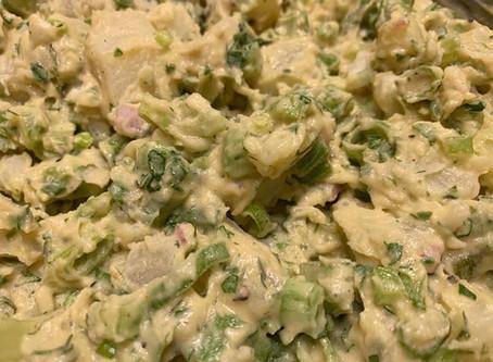 Vibin? Vegan Mustard Potato Salad