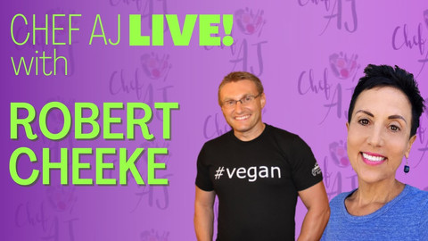 Robert Cheeke interview with Chef AJ