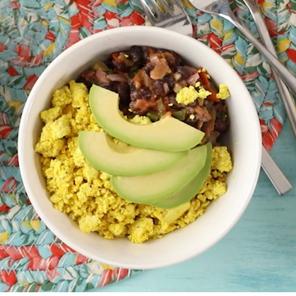 Tasty Tumeric Breakfast Burrito Bowl