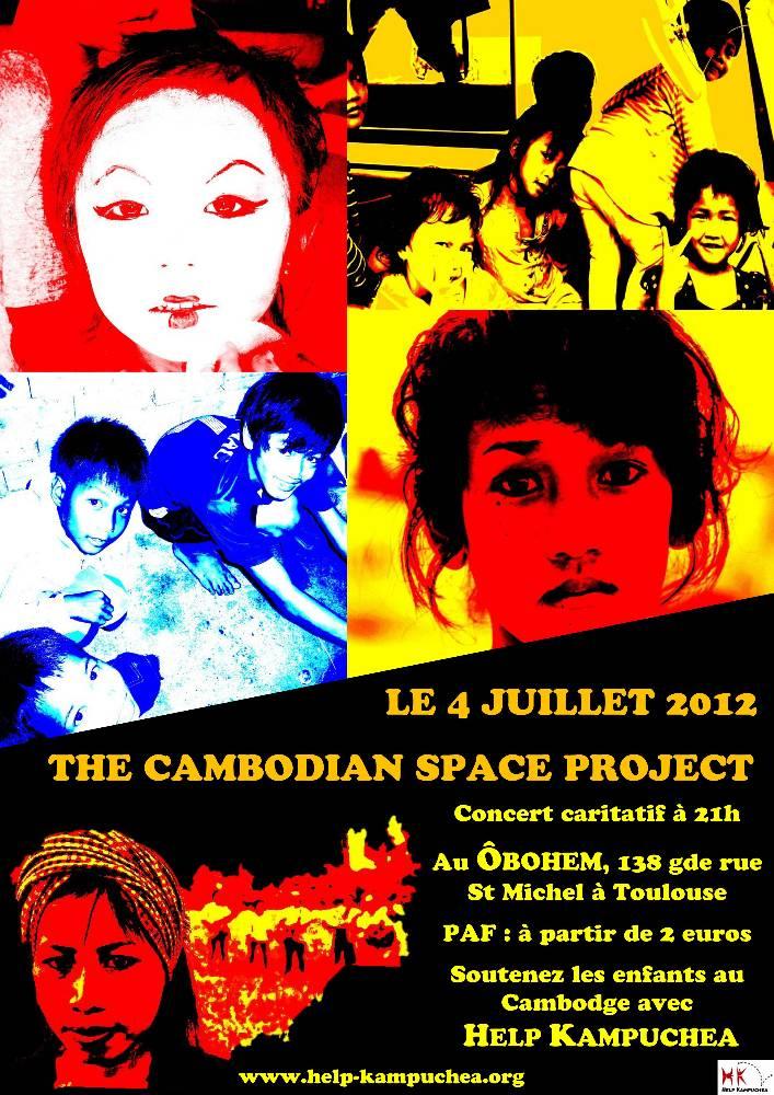 Première soirée de Help Kampuchea