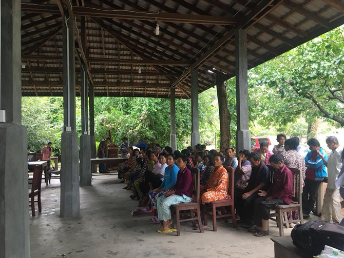 Projet à Kampong Speu