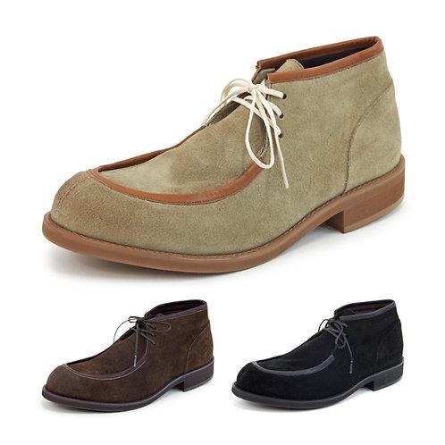 【VARISISTA ヴァリジスタ】スエードレザーチロリアンシューズ レザー スエード アウトドア 紳士靴 革靴 Z1025