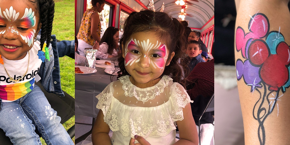 Private Face Painting Workshop