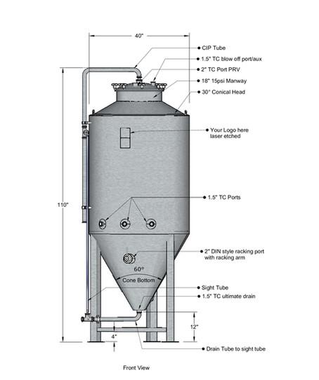7BBL Uni Tank
