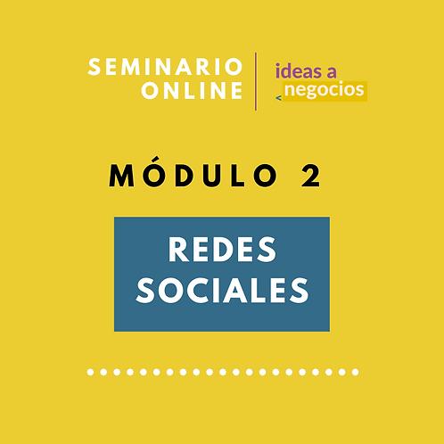 MÓDULO 2 - Redes Sociales