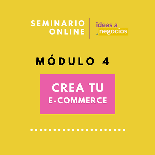 MÓDULO 4  - Crea tu e-commerce