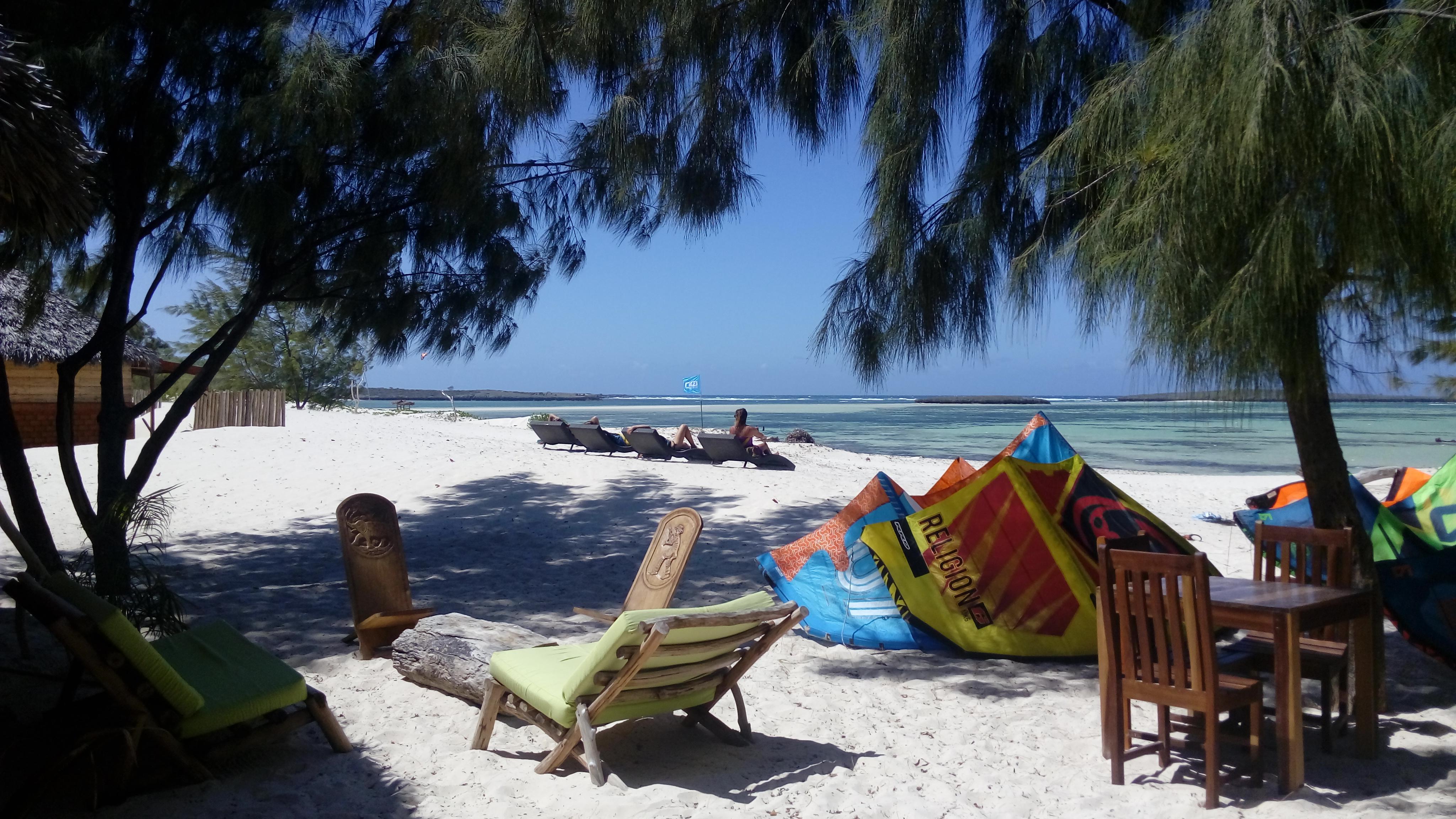 kitesurf windsurf hôtel Lakana Madagasca