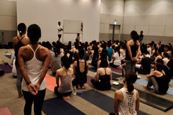 《2019 Yoga Festaにて》